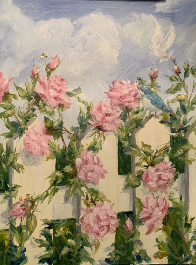 Intermediate Level Painting Instruction Class Thursdays in Sept with Mary Ann Ford